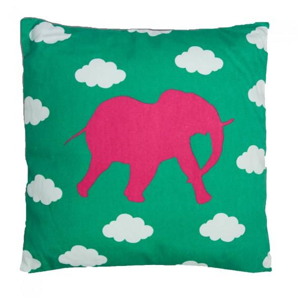 Декоративная подушка со слоном
