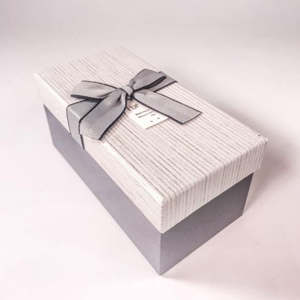 Коробка серая